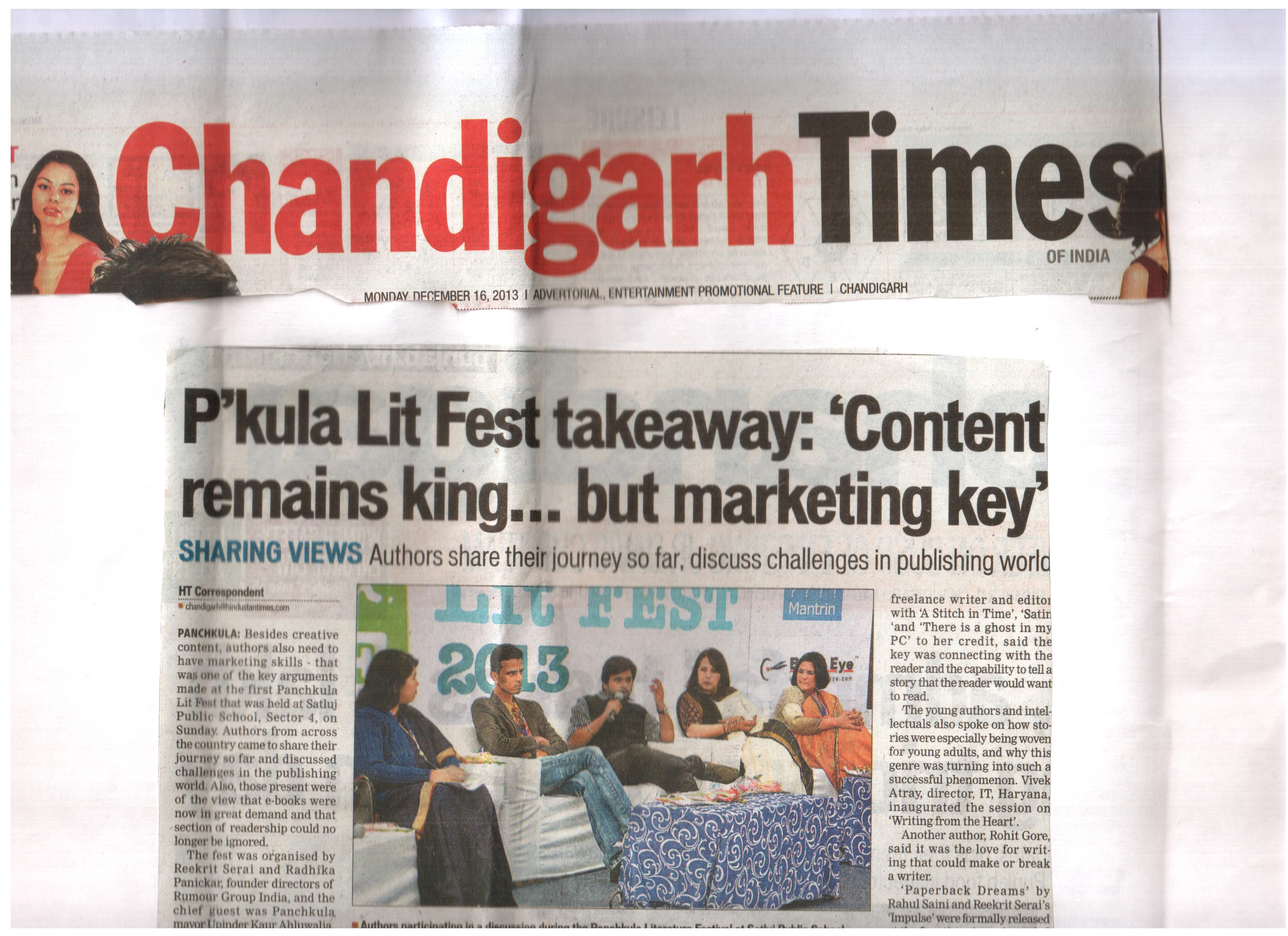 Panchkula Lit Fest