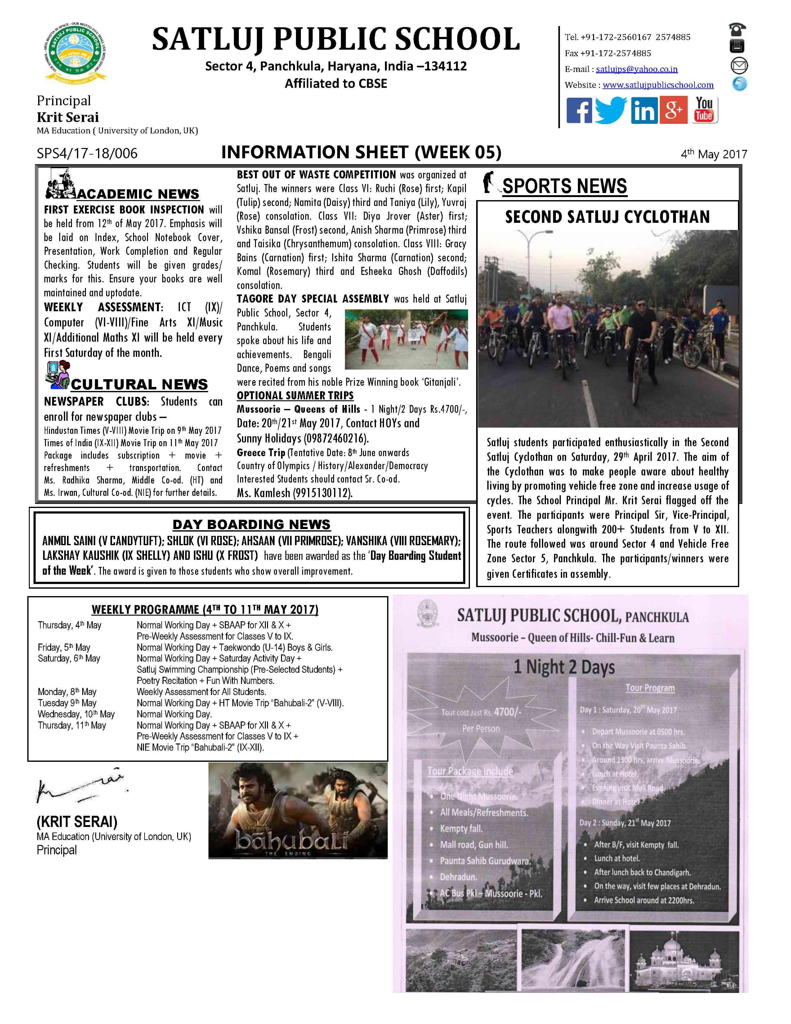 Information Sheet 051