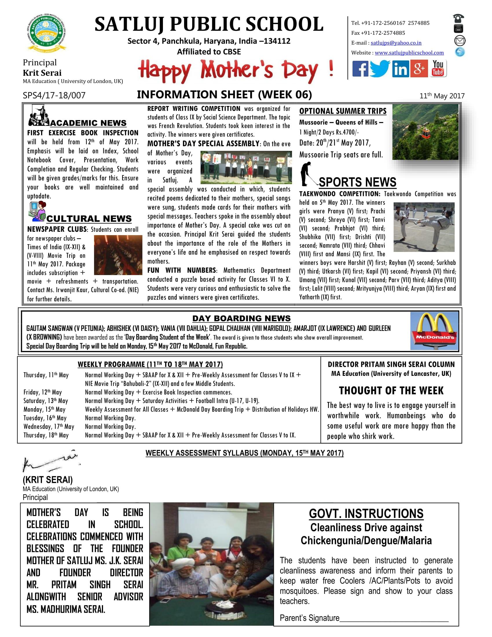 Information Sheet 06-1