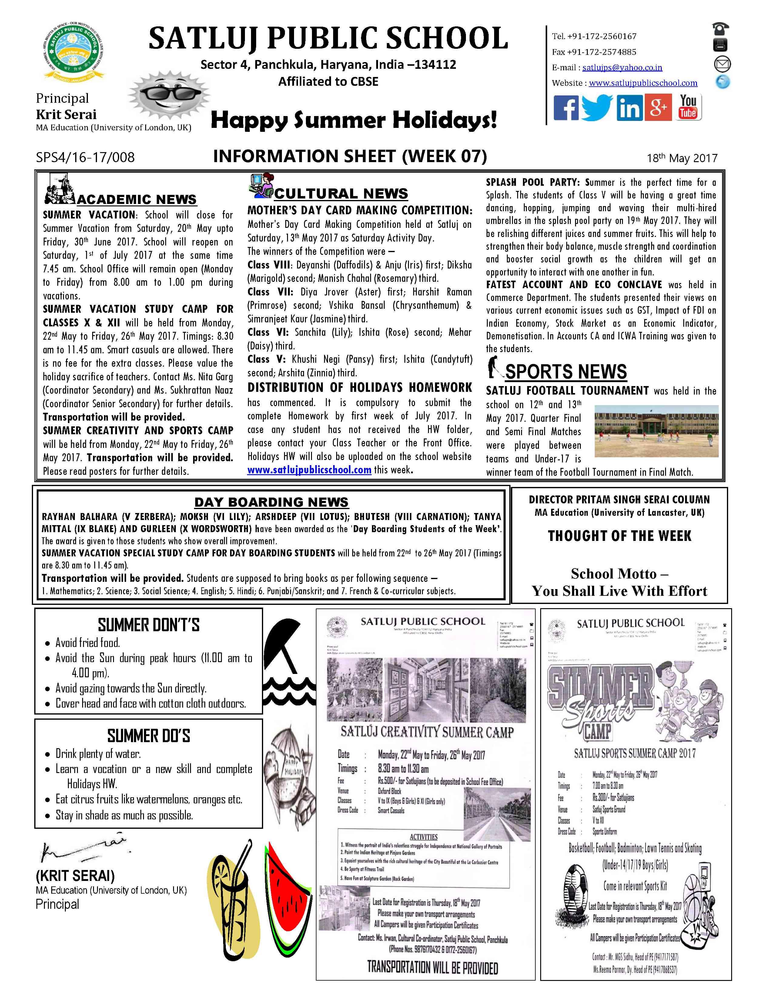 Information Sheet 071