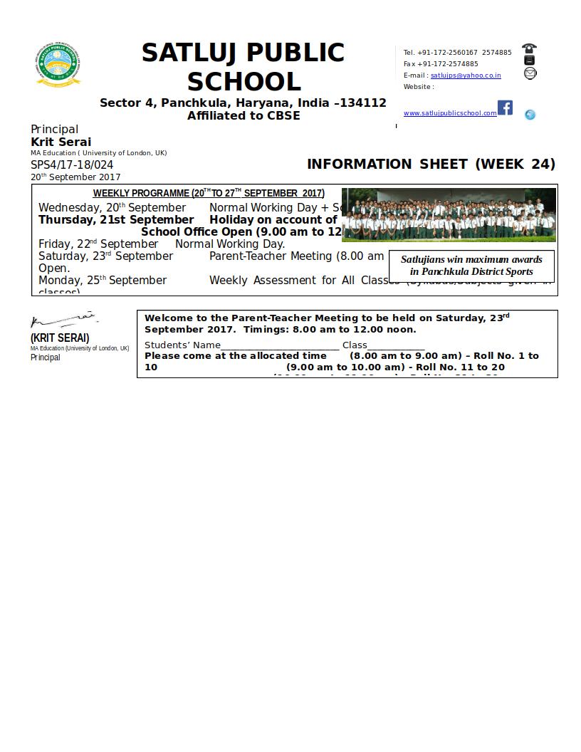 Information Sheet 24
