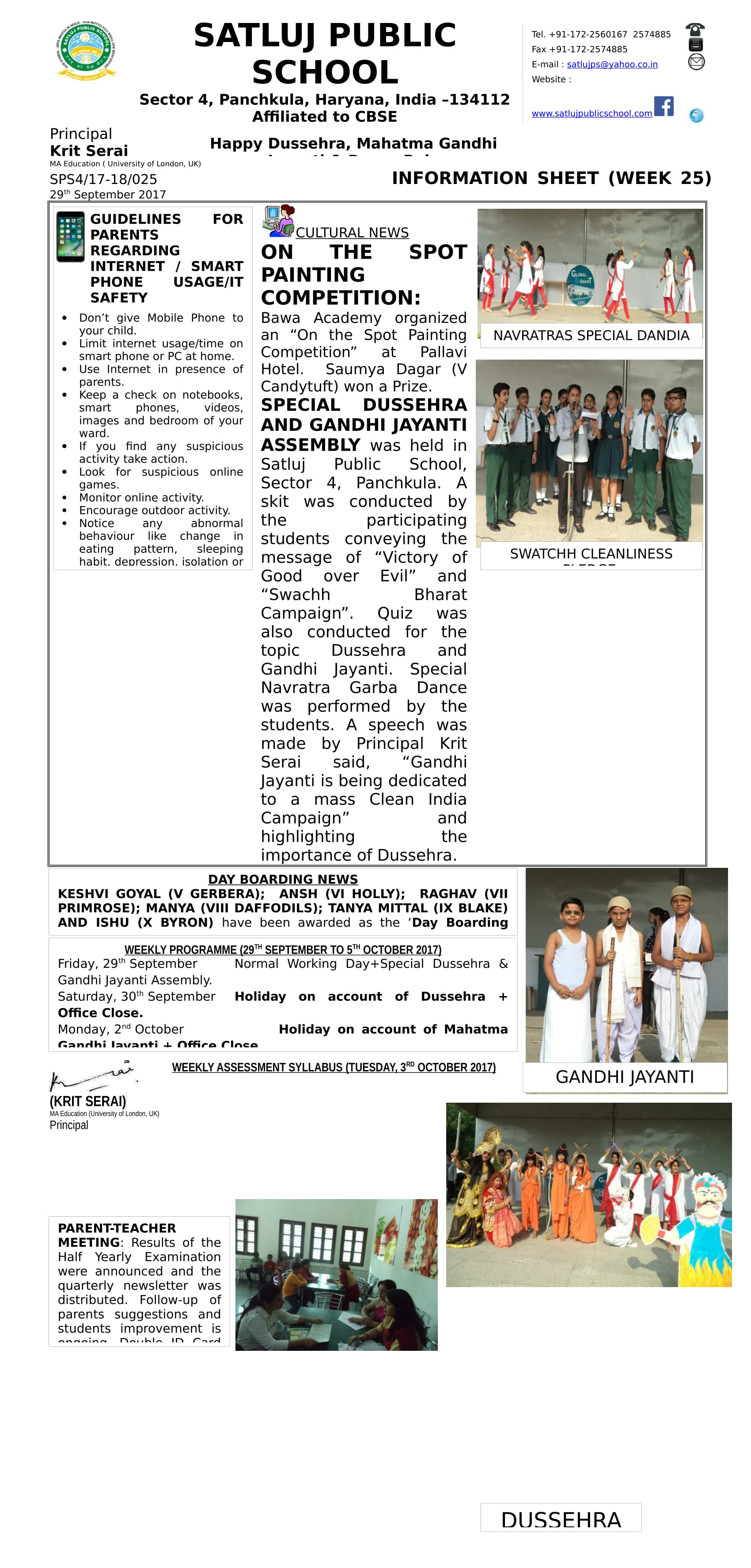 Information Sheet 25-1