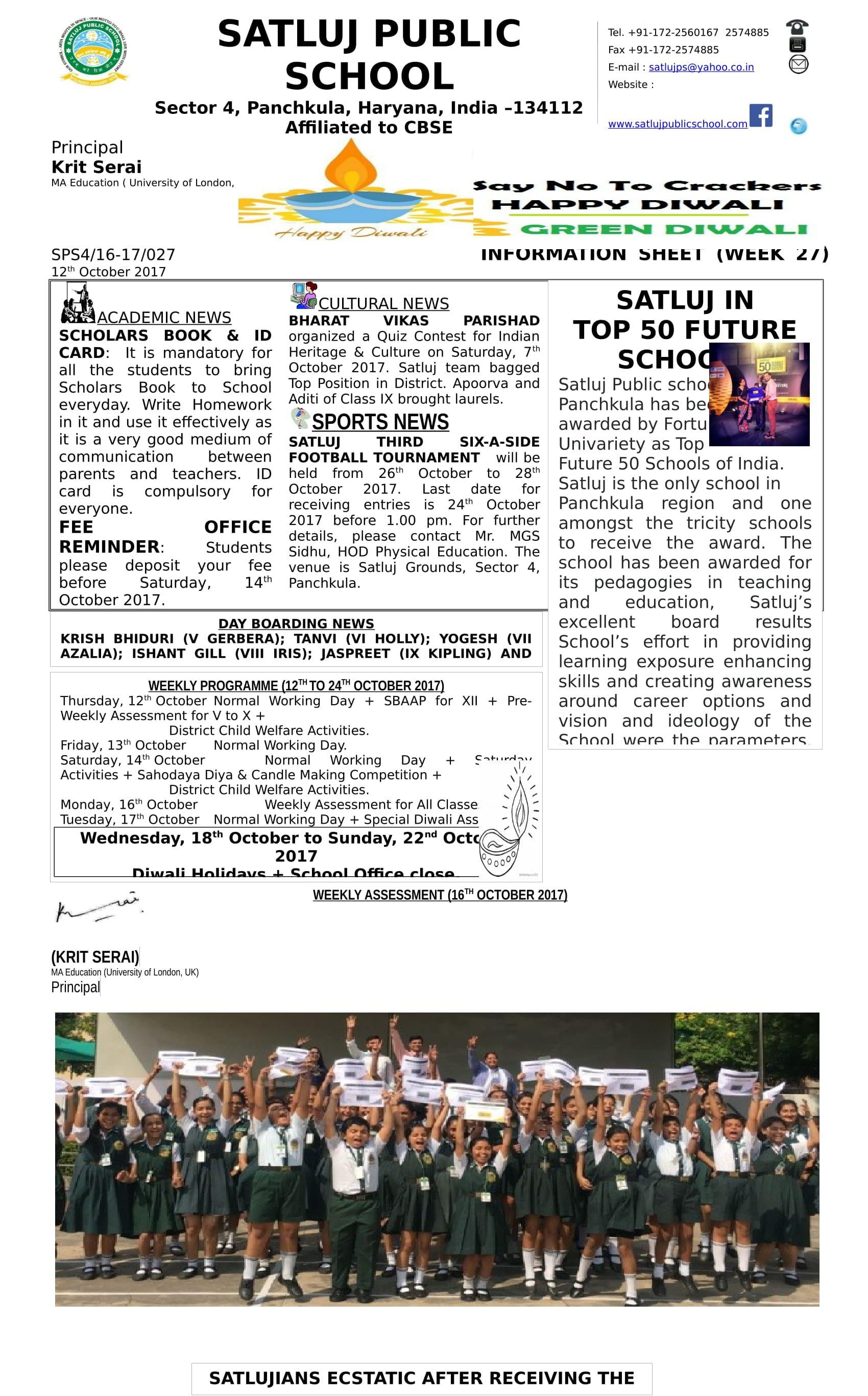 Information Sheet 27-1