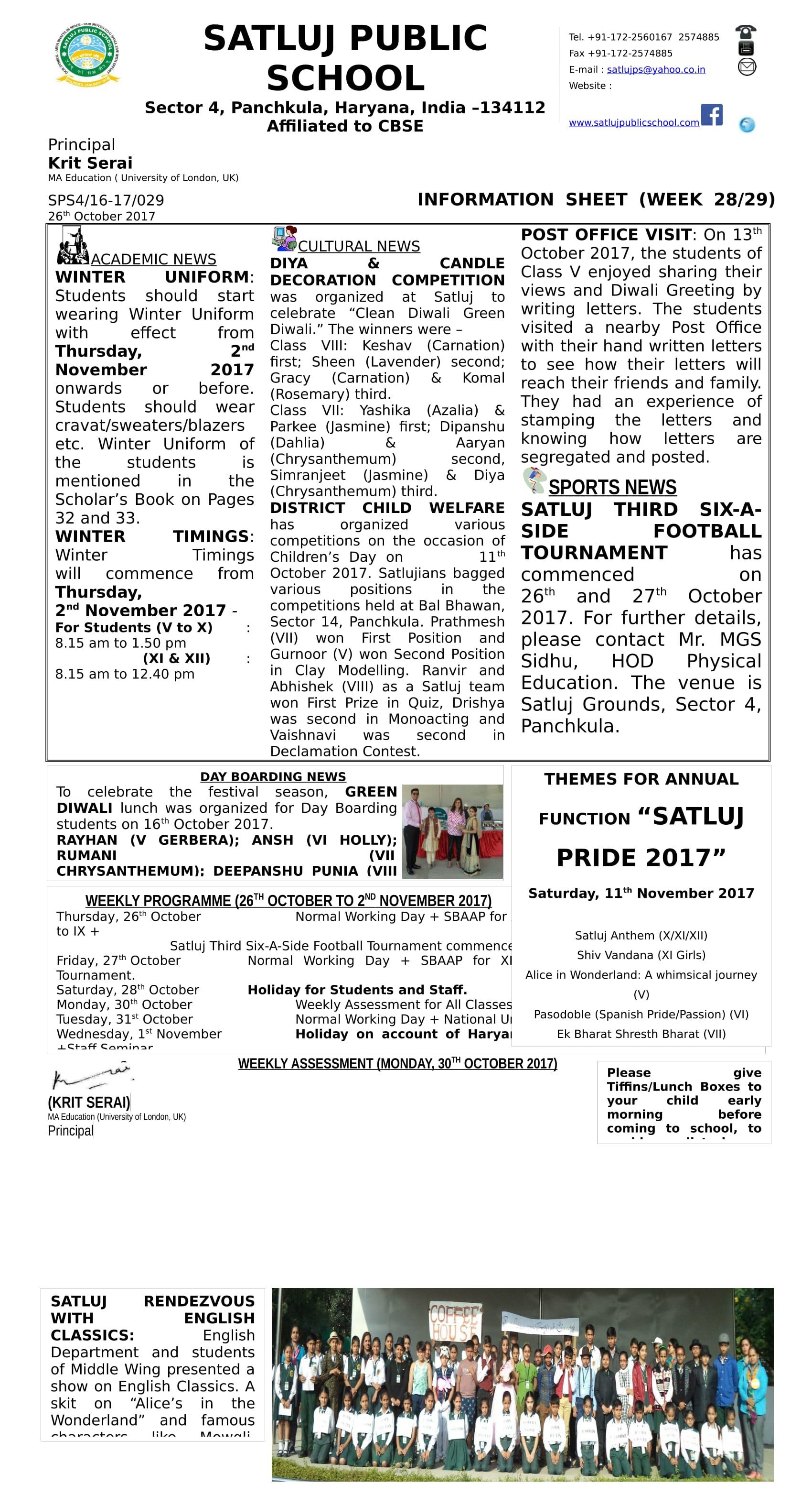 Information Sheet 29-1