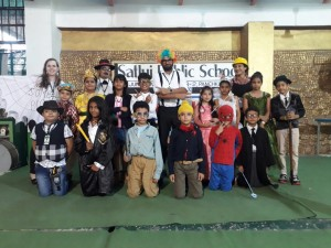 Press Note on Satluj Junior embrace dressing as Book Characters