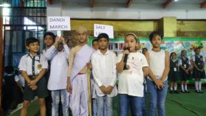 Press release on Gandhi Jayanti