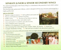 Separate Junior & Senior Secondary Wings