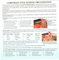 Corporate Style School Organization
