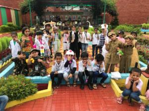 Press note on Fancy Dress Competition